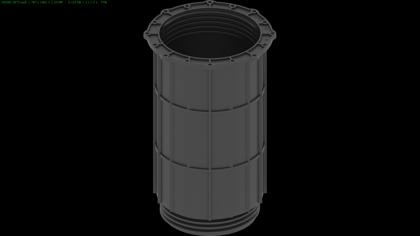 DD Pedestals Max regulējamu terases balstu 200mm adapteris