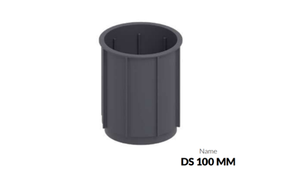 DD Pedestals regulējamu terases balstu 100mm adapteris