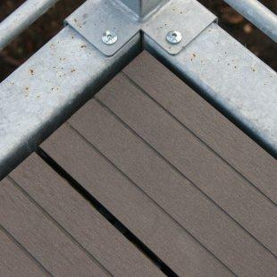 Koksnes polimēra / WPC terases dēļi